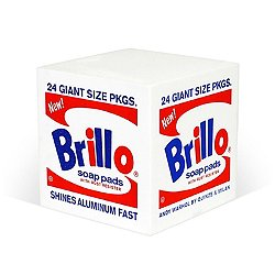 Andy Warhol Brillo Pouf