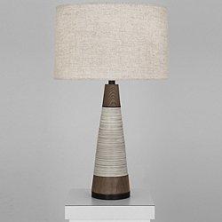 Berkley Vessel Tapered Table Lamp (Bisque) - OPEN BOX