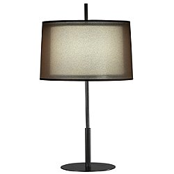 Saturnia Table Lamp (Bronze/Ascot White) - OPEN BOX RETURN