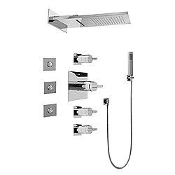 Aqua-Sense Full Square Thermostatic Shower System