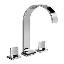 Sade Widespread Lavatory Faucet - Large
