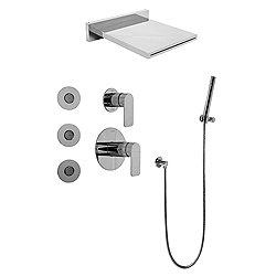 Aqua-Sense Round Water Feature System with Diverter Valve