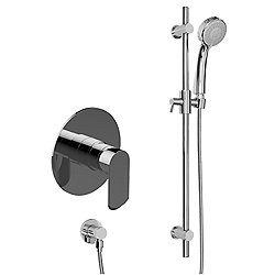 Phase Contemporary Pressure Balancing Shower With Handshower