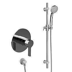 Terra Contemporary Pressure Balancing Shower With Handshower