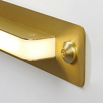 Brushed Brass finish / Detail view