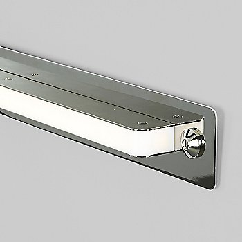 Large size / Polished Nickel finish / Detail view