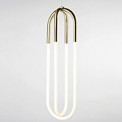 Rudi Double Loop Pendant Light