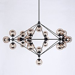 Modo 6 Sided Chandelier - 21 Globes