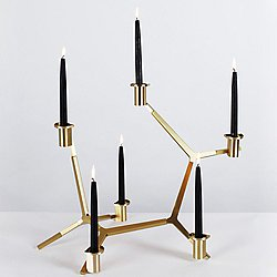 Agnes Table Candelabra - 6 Candles