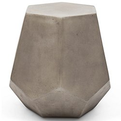 Faceted Stool