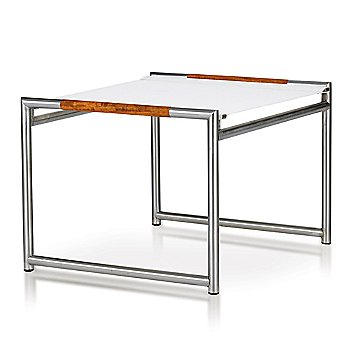 White Batyline / Aluminum Silver frame