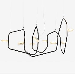 Palindrome 8 Light LED Chandelier