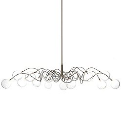 Big Bubbles Oval HL 14 Suspension Light