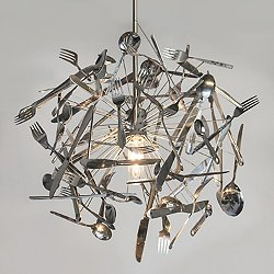 Cutlery Pendant Light
