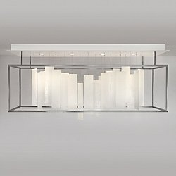 Movimento Rectangular Chandelier