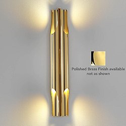 Liberty LED Wall Sconce (Polished Brass) - OPEN BOX RETURN