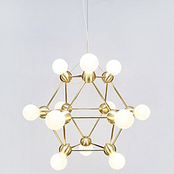 Lina 12-Light Small Chandelier