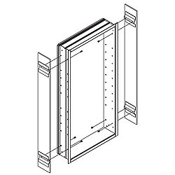 M Series Optional Side Kit for Surface-Mount Installation