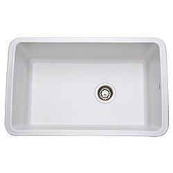 Allia Fireclay Single Bowl Undermount Kitchen Sink