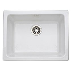 Allia Fireclay Single Bowl Undermount Kitchen or Laundry Sink