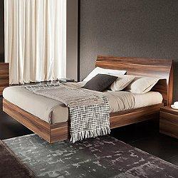 Vela Walnut Bed