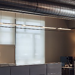 Lamina LED Systems Linear Suspension Light