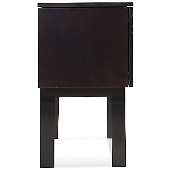 Shown in Chocolate finish, 33 Inch height