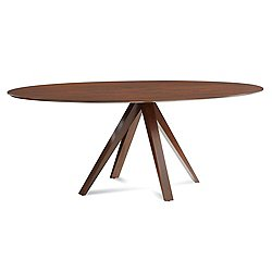 Nova Ellipse Dining Table(Smooth Catalyzed 70x36)-OPEN BOX