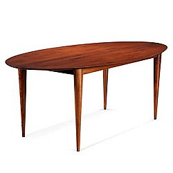 Cona Ellipse Maple Dining Table