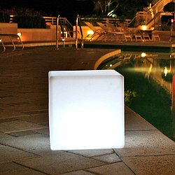 Cube Sharp LED Indoor / Outdoor Lamp