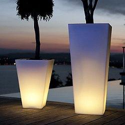Rumba Lighted Planter