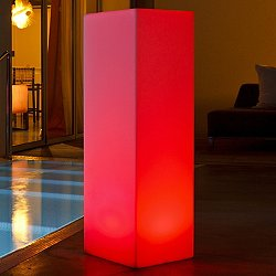 Slim Block LED Indoor / Outdoor Lamp