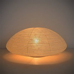 Paper Moon Saucer Table Lamp - OPEN BOX RETURN