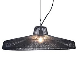 Moire Worker Pendant Light