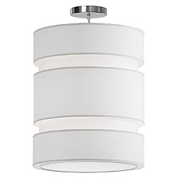 Lena Pendant Light (Silk White/16 Inch) - OPEN BOX RETURN