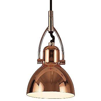 Shown in Copper finish, Medium size