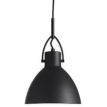 Shown in Matte Black finish, Medium size