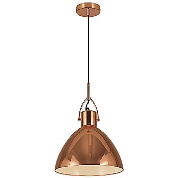 Shown in Copper finish, Large size