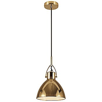 Shown in Matte Brass finish, Large size