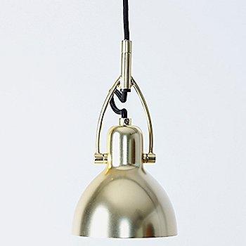 Shown in Matte Brass finish, Medium size