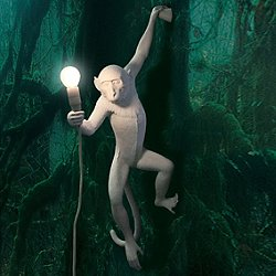Monkey LED Wall Lamp