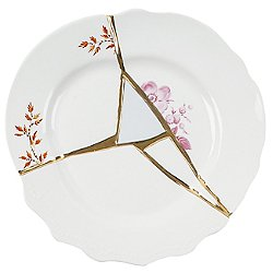 Kintsugi Fruit and Dessert Plate