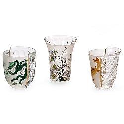 Aglaura Drinking Glasses Set of 3