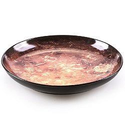 Cosmic Diner Soup Plate - Mars