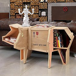 Pig Sending Animals Wooden Furniture