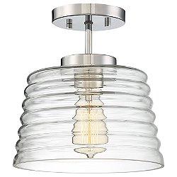 Zander Semi-Flush Mount Ceiling Light