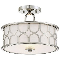 Lou Semi-Flush Mount Ceiling Light