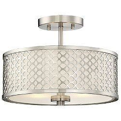 Kelly Semi-Flush Mount Ceiling Light