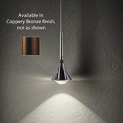 Rain Pendant (Coppery Bronze) - OPEN BOX RETURN