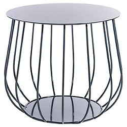 RESO Side Table, Straight Bars
